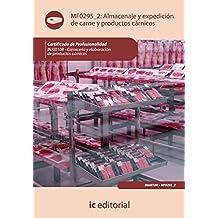 Almacenaje y expedición de carne y productos cárnicos. inai0108 - carnicería y elaboración ...