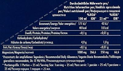 MULTIPOWER Supplements Magnesium Liquid, 20 Ampullen, 1er Pack (1 x 500 ml)
