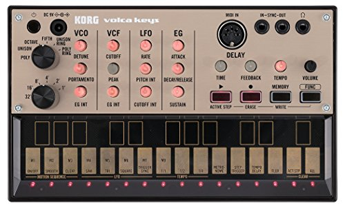 Korg VOLCA KEYS Analog Synthesizer mit Sequenzer (3-stimmig)