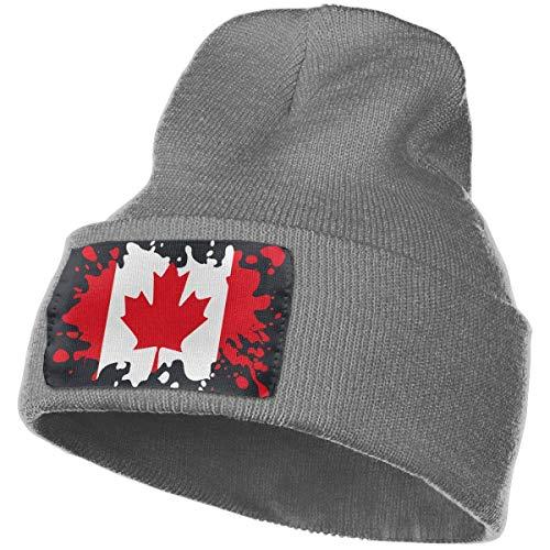 e82d4dcc33e33 ARTOPB Warm Adult Canada Flag Winter Acrylic Knit Beanie Hat Skull Cap