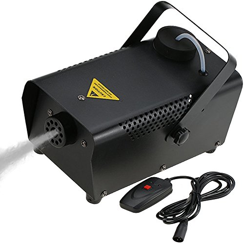 (Tomshine 400W Nebelmaschine,Rauchmaschine mit Draht-Fernbedienung, 200ml Große Kapazität für Moving Head,Disco Beleuchtung,Led scheinwerfer,für Halloween Hochzeit Party Club)
