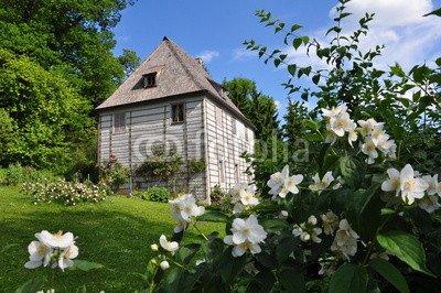 Alu-Dibond-Bild 120 x 80 cm: 'Weimar - Goethes Gartenhaus', Bild auf Alu-Dibond