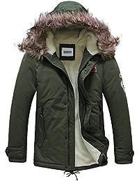 OCHENTA - Abrigo - chaqueta guateada - Manga Larga - para hombre