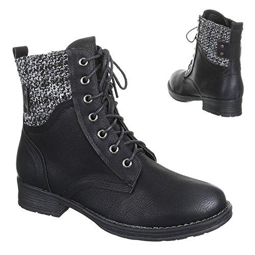 Chaussures, bottines 370A-pa Noir - Noir