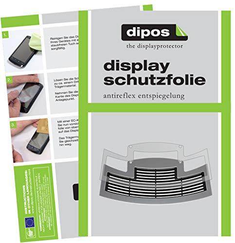 dipos I 2X Schutzfolie matt passend für Jura E80 ab 2015 Tropfblech Folie Displayschutzfolie E80 Display
