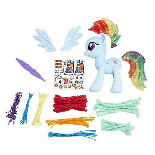 My little Pony Design-a-Pony Rainbow Dash Figur-Set, 12,7cm (Dash Design Rainbow Pony A)