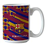 Boelter Brands Global Soccer FC Barcelona Sublimated Coffee Mug, 15-ounce