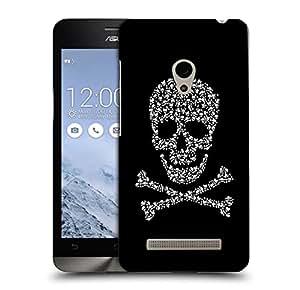 Snoogg Danger Zone Skull Designer Protective Back Case Cover For ASUS ZENFONE 5