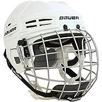 Bauer IMS 5.0 Helm Combo Senior, Größe:M;Farbe:weiss