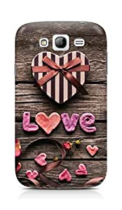 Amez designer printed 3d premium high quality back case cover for Samsung Galaxy Grand i9082 (Romantic gift)