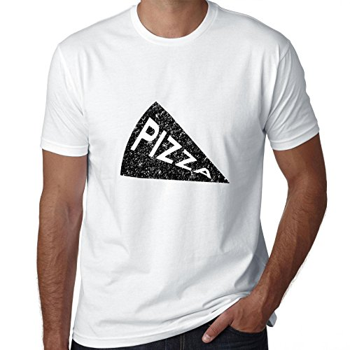Classic Pizza Slice Iconic Graphic Men's T-Shirt