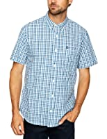 Timberland Short Sleeve Plaid Pelham Men's Shirt