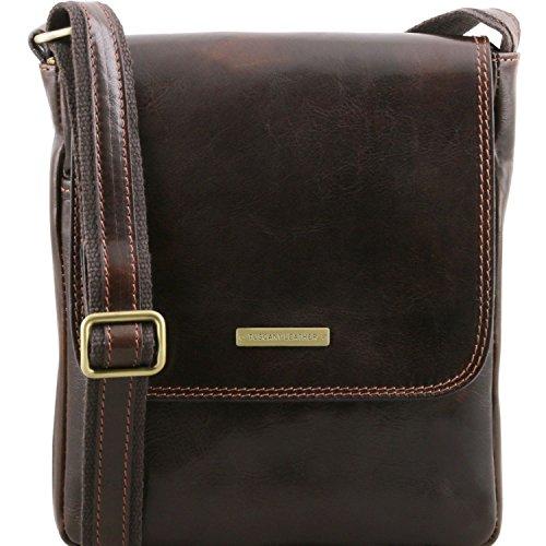 Tuscany Leather, Borsa a spalla uomo Marrone marrone Taille Unique