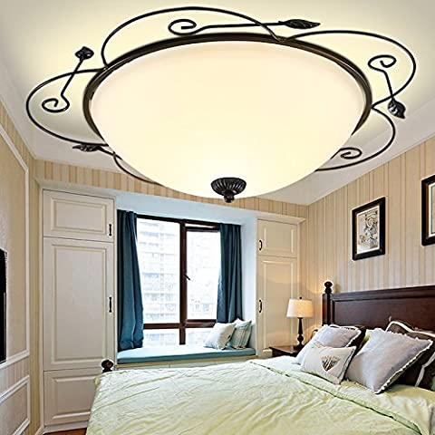 APSD-Illuminazione calda Americano, Ferro da stiro, Lampade da soffitto, camera da letto e soggiorno, balcone, (40cm)