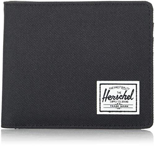Herschel Roy Plus Coin XL RFID Wallet Black -