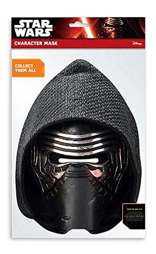 Party Maske Kylo Ren (Luke Skywalker Kostüm The Force Awakens)