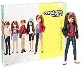 Creatable World Figura Unisex, muñeco articulado, pelucas color rubio oscuro y accesorios (Mattel GGG53)