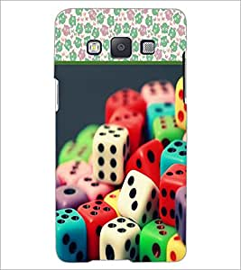 PrintDhaba Dices D-3611 Back Case Cover for SAMSUNG GALAXY A5 (Multi-Coloured)