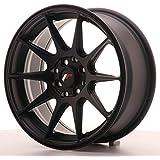 Japan Racing Jr11 Flat Black 7x16 ET30 4x100/114 Llantas de aleación