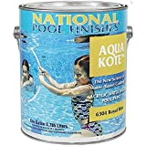 National Pool Finishes Aqua Kote - Acrylic Waterbase Pool Paint - Semi-Gloss Finish