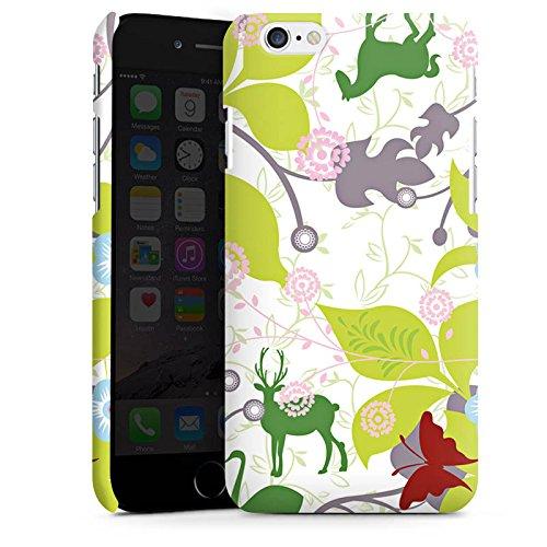 Apple iPhone X Silikon Hülle Case Schutzhülle Floral Muster Blätter Premium Case matt