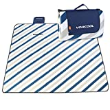 VORCOOL 200x200cm Picknickdecke Wasserdicht mit Tragegriff für Picknicks, Camping