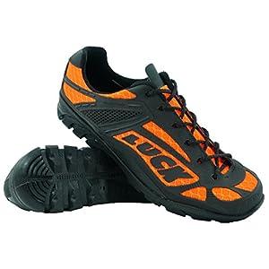 Zapatillas de Ciclismo LUCK Predator 18.0,con Suela de EVA Ideal para Poder adaptarte a Cualquier Terreno y disciplina Deportiva. (46 EU, Naranja)