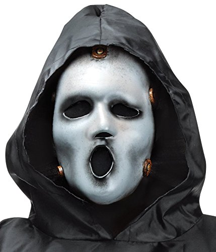 Tv Kostüm (Scream TV Costume Adult Standard (Mask and black cloak)