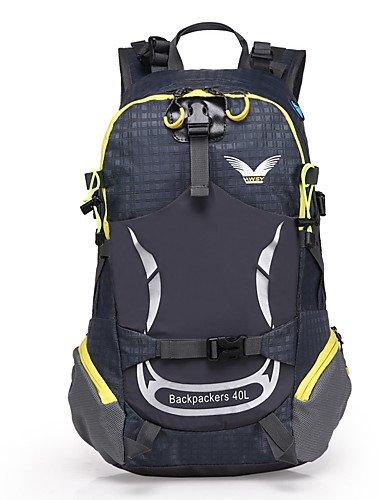 ZQ n/a L Rucksack Legere Sport / Reisen / Laufen Draußen / Leistung Wasserdicht / Multifunktions andere Nylon N/A Yellow