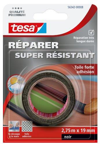 tesa-56342-00008-01-reparer-super-resistant-toile-forte-adhesion-275-m-x-19-mm-noir