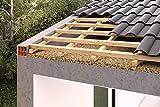 Korkdämmplatte zur Gebäudedämmung / Dachdämmung / Wanddämmung / Dämmung von Decken / Hütten usw. Sonderposten (100x50x2cm) (1)