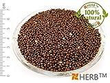 SCHWARZER SENF - GANZE SAMEN 100g Sinapis nigra L., seed (samen)