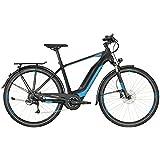 Bergamont E-Horizon 7.0 500 Herren Pedelec Elektro Trekking Fahrrad schwarz/blau 2018: Größe: 56cm (178-186cm)