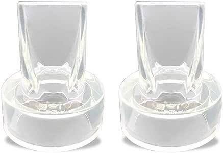 Paquet de 2 valves de Tire-Lait pour Les Tire-Lait Purely Yours des becs de Plumes pour remplacer Les valves de Tire-Lait Ameda