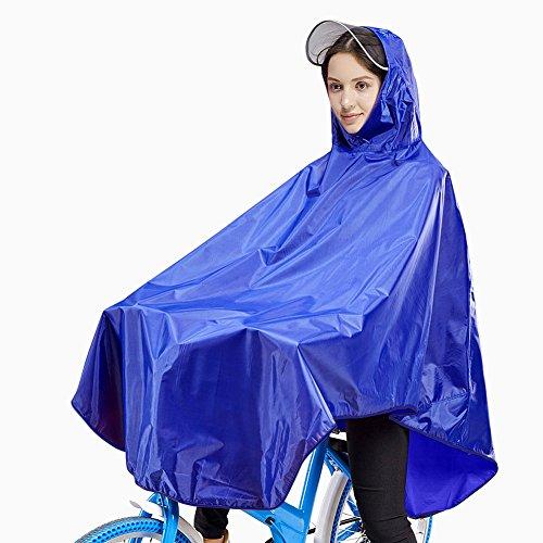 Damen Fahrrad Regenponcho,Yochen Regenschutz Schnell Trocknend Dauerhaft Regencape für Angeln,Wandern,Camping, Reise, alpinismus usw - Sie Sehen Rücken Ihren