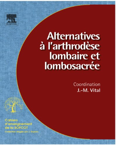 Alternatives  l'arthrodse lombaire et lombosacre (n 96)