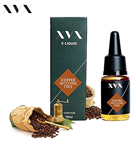 XVX E Liquid \ Coffee Flavour \ Electronic Liquid For E Cigarette \ Electronic Shisha Liquid \ 10ml Bottle \ Needle Tip \ Precision Pouring \ Choose Your Lifestyle \ New For 2016 \ Digital Smoke \ Nicotine Free \ Tobacco Free