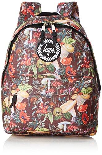 HYPE ENGLISH WOODLAND Mochila escolar, 40 cm, Varios colores (Multicolor)
