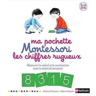 Ma pochette Montessori - Les chiffres rugueux - 3/6 ans