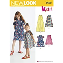 Simplicity New Look niño y niñas Vestidos y la Parte Superior patrón de Costura, ...