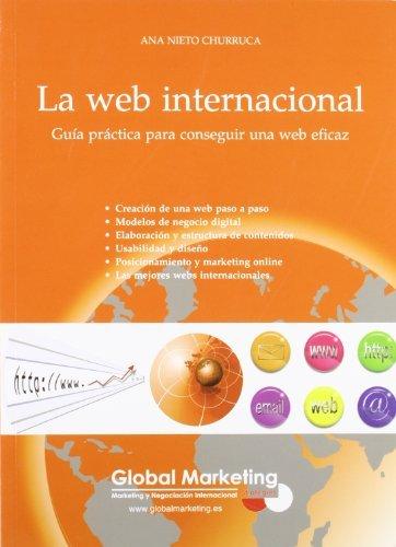 Portada del libro La Web Internacional (Spanish Edition) by Ana Nieto Churruca (2009-05-14)