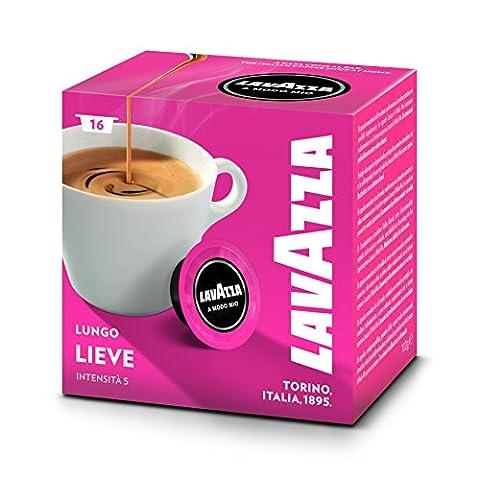 Capsules Cafe Lavazza - Lavazza A Modo Mio Café Crema Lungo