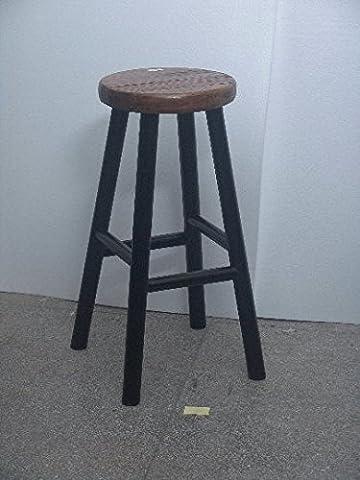 Tabouret de bar chinois meubles de chaise Fauteuil Petite Sidetable Noir Oriental asiatique de cuisine salle à manger Salon Chambre à coucher meubles Décor Intérieur sièges Chaises