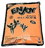 Enjoy Holi Colour 1kg Orange Gulal Powder Pack 100% Safe & Natural Holi Color