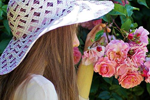 Duftkerze Soja Echte Rote Rosen Geschenk Valentinstag Kerze aus Bio Sojawachs ätherisches Öl lange Brenndauer - 6