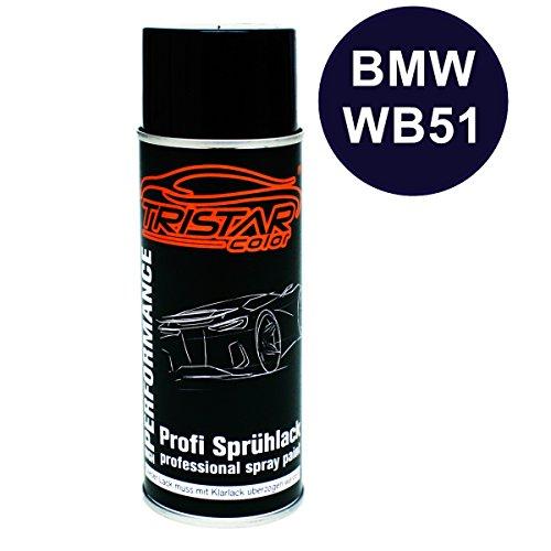 Preisvergleich Produktbild 400 ml Spraydose - Sprühdose BMW WB51 SAN MARINO BLAU M. ab 2011 - Autolack