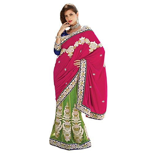 Aagaman Fashions Faux Georgette