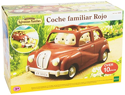 Sylvanian Families - Coche familiar, color rojo (2908)