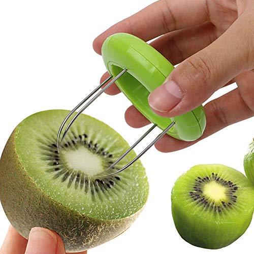 NOPNOG Kiwi Cortador de Frutas, pelador, Color al Azar