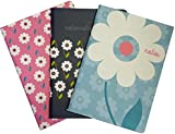 Collins Daisy A6 Notebook Gift Kit (Pack of 3)
